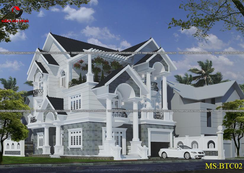 Mẫu thiết kế biệt thự 2 tầng đẹp hiện đại diện tích 120m2 Thiet-ke-biet-thu-1-tang-4