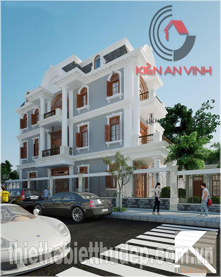 Mẫu thiết kế biệt thự 2 tầng dt 250m2 hiện đại đẹp tại Quảng Ngãi Biet-thu-quang-ngai-mat-ben