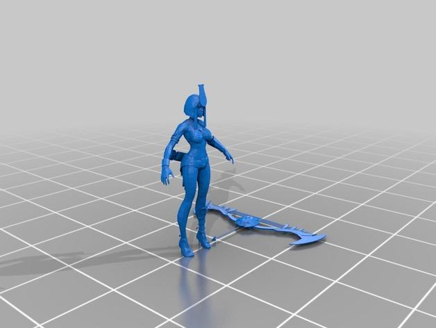 """APORTE MODELOS 3D DE EL JUEGO """"SMITE""""  Neith_preview_featured"""