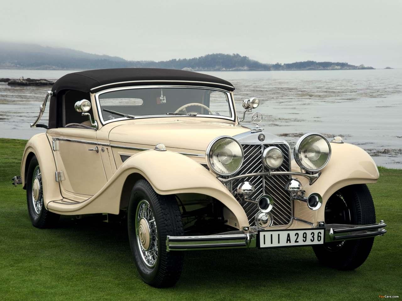 La Mercedes-Benz 290 (W18) 1933-1937 W18_290_cab_A