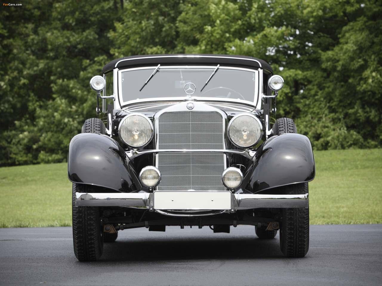 La Mercedes-Benz 290 (W18) 1933-1937 W18_290_cab_D-01