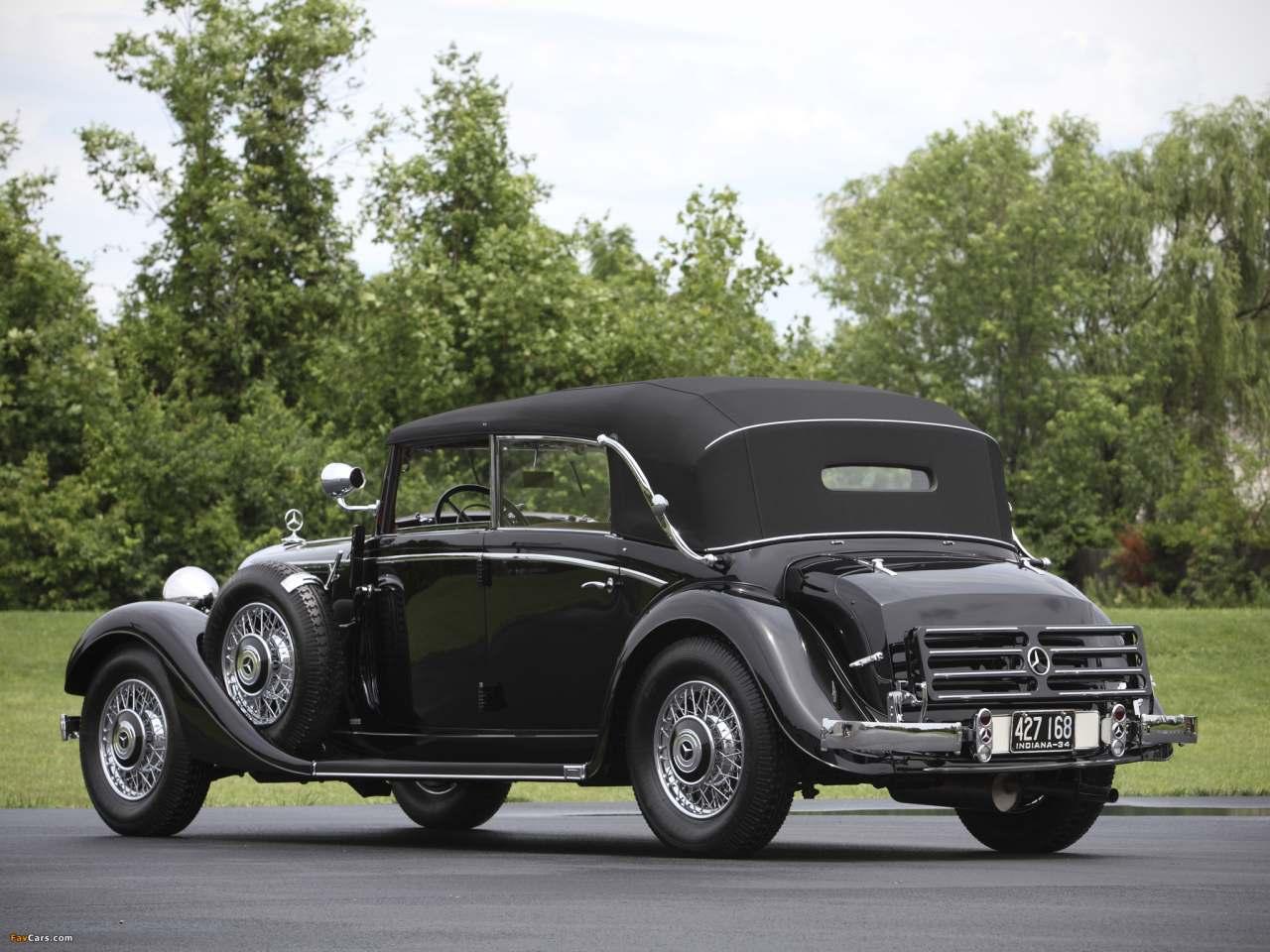 La Mercedes-Benz 290 (W18) 1933-1937 W18_290_cab_D-02