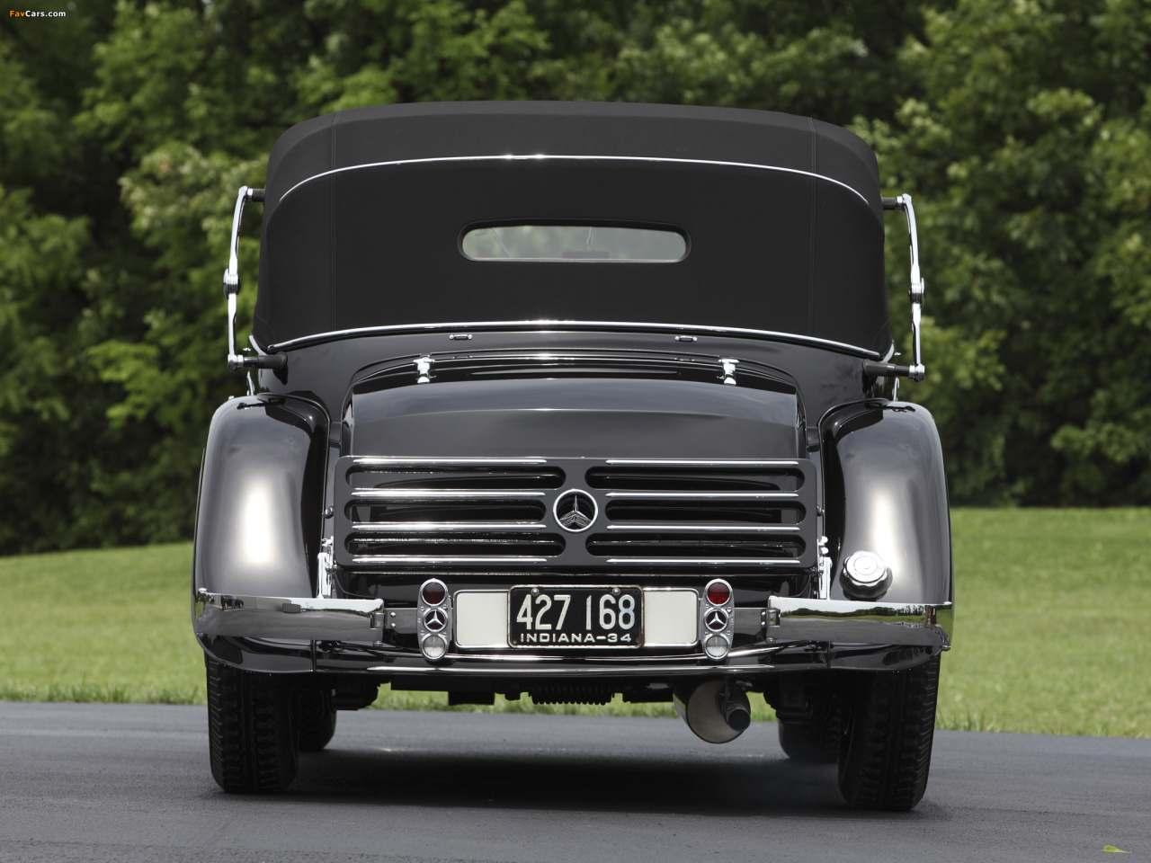 La Mercedes-Benz 290 (W18) 1933-1937 W18_290_cab_D-03