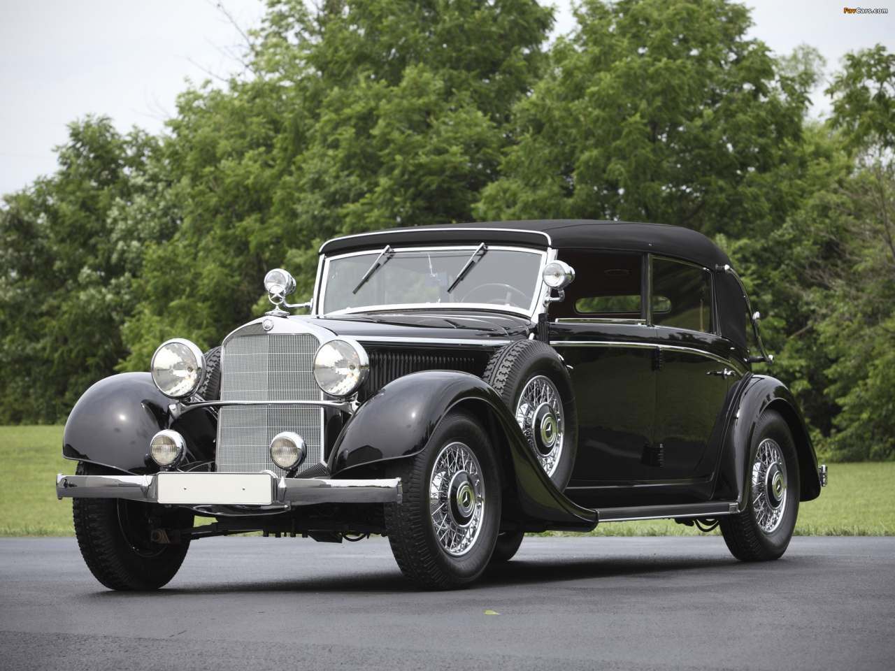 La Mercedes-Benz 290 (W18) 1933-1937 W18_290_cab_D-04