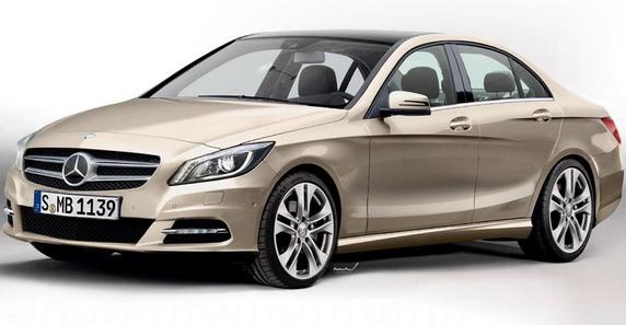 La future Classe C se prépare en coulisse  (W205) 2014-Mercedes-C-Class-1