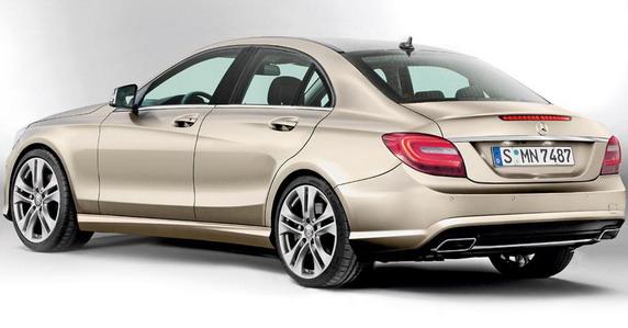 La future Classe C se prépare en coulisse  (W205) 2014-Mercedes-C-Class-2