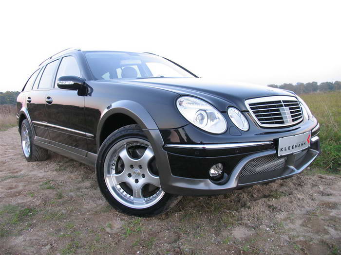 """S211 Mercedes-Benz E50KCC 2005 Le """"Cross Country"""" par Kleemann 2005-kleemann-mercedes-benz-e50kcc-front-angle-view"""