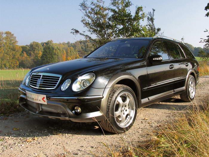 """S211 Mercedes-Benz E50KCC 2005 Le """"Cross Country"""" par Kleemann 2005-kleemann-mercedes-benz-e50kcc-front-side-view"""