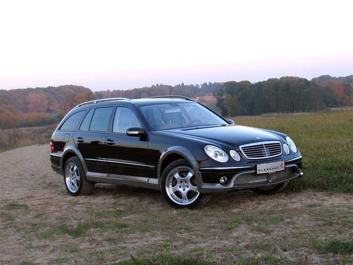 """S211 Mercedes-Benz E50KCC 2005 Le """"Cross Country"""" par Kleemann 2005-kleemann-mercedes-benz-e50kcc-top-view"""