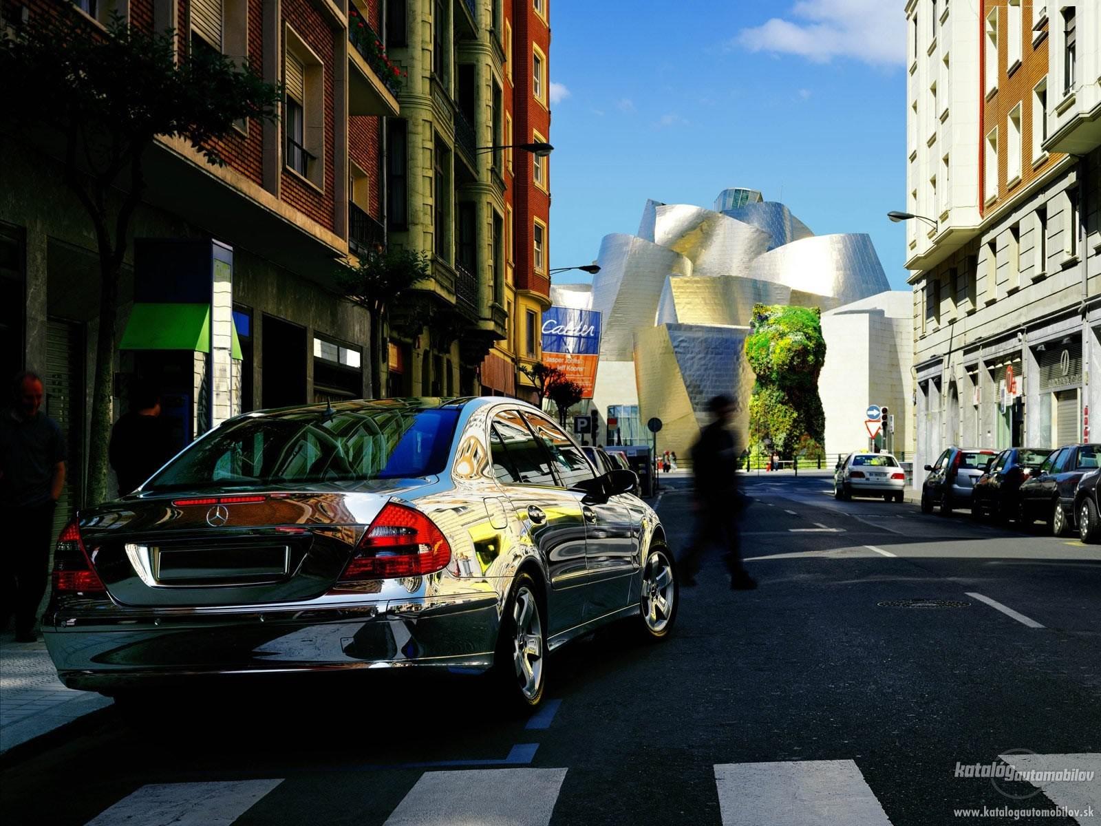 [Photos] Galerie : Les Berlines W211 et Breaks S211  pour le plaisir des yeux Mercedes-e-w211-200-cdi-100kw-2