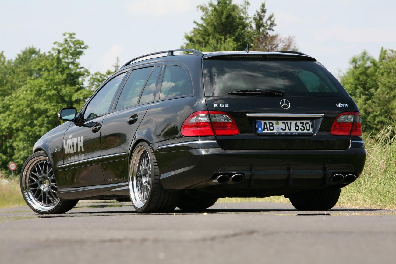 [Photos] Les Berlines W211 et Breaks S211 spéciaux ... Mercedes-e63-estate-1