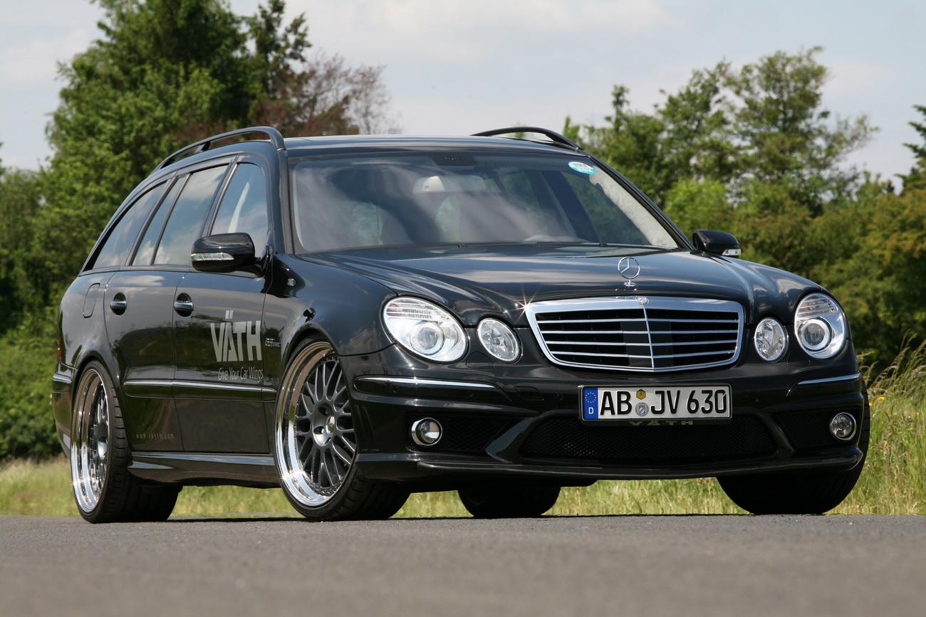 [Photos] Les Berlines W211 et Breaks S211 spéciaux ... Mercedes-e63-estate-3