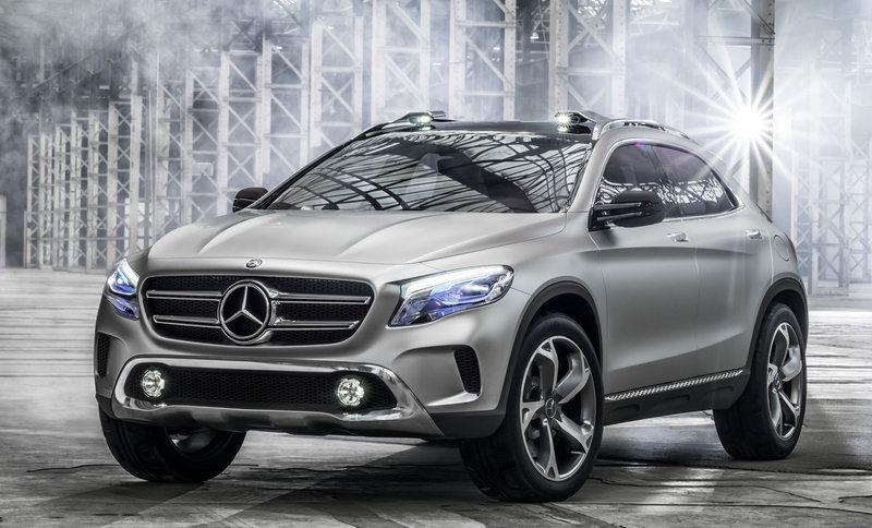 Le mini SUV Par Mercedes Benz, le GLA Concept (X156) X156-02