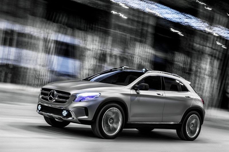Le mini SUV Par Mercedes Benz, le GLA Concept (X156) X156-03