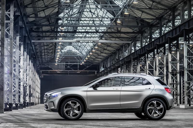 Le mini SUV Par Mercedes Benz, le GLA Concept (X156) X156-04