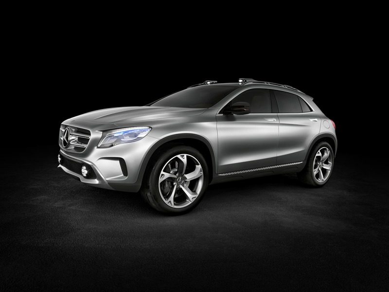 Le mini SUV Par Mercedes Benz, le GLA Concept (X156) X156-06
