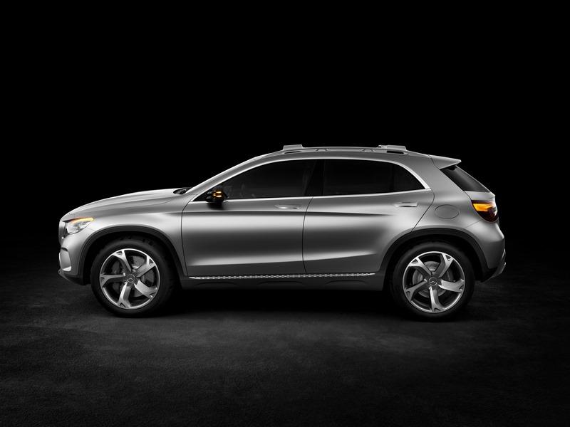 Le mini SUV Par Mercedes Benz, le GLA Concept (X156) X156-07