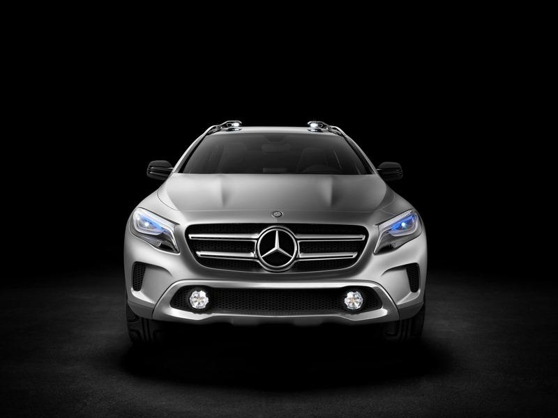 Le mini SUV Par Mercedes Benz, le GLA Concept (X156) X156-09