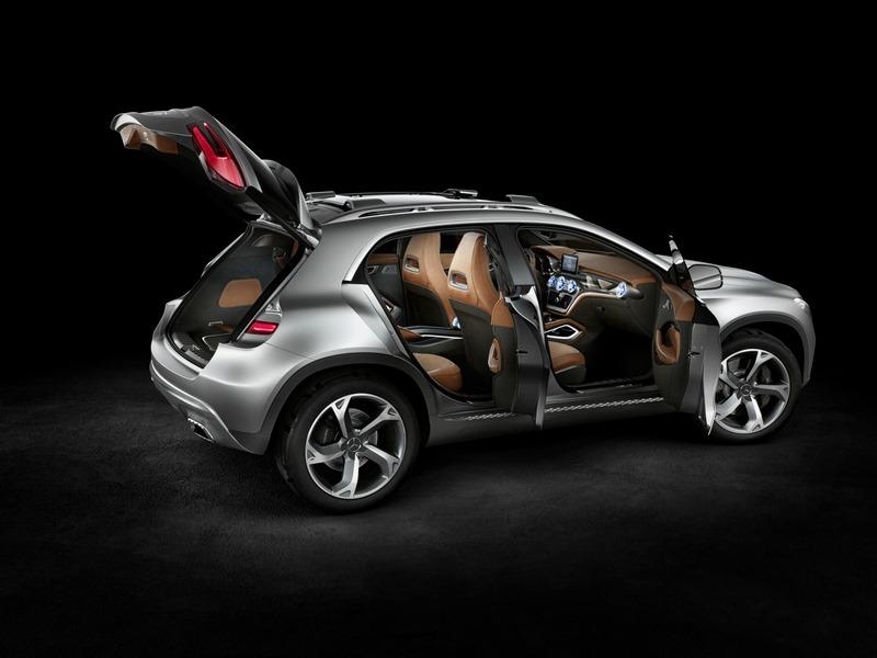 Le mini SUV Par Mercedes Benz, le GLA Concept (X156) X156-10
