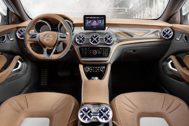 Le mini SUV Par Mercedes Benz, le GLA Concept (X156) X156-11
