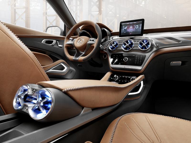 Le mini SUV Par Mercedes Benz, le GLA Concept (X156) X156-12