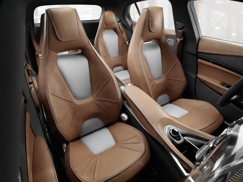 Le mini SUV Par Mercedes Benz, le GLA Concept (X156) X156-13