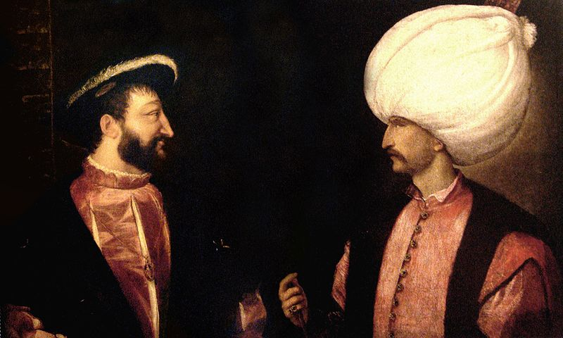 The Great Historical Captions Challenge! 800px-francois_i_suleiman-use-this3