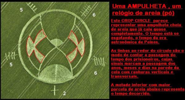 CROP CIRCLES - OS CÍRCULOS DAS PLANTAÇÕES DE TRIGO - Página 3 Ampulhetacropcircle