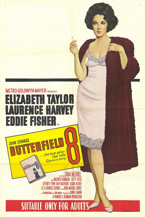 Posteri Glumaca i Glumica Iz Starih Filmova - Page 3 Liz-taylor-in-butterfield-8-poster-with-added-fur-over-slip