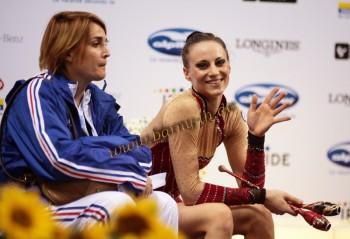 Les moments complices gymnaste/entraîneur Db6b97262732829
