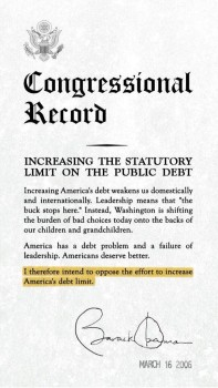 Obama on debt limit in 06  01b2a7280775681