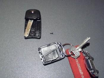 Changement pile de télécommande de verrouillage 537b30273644411