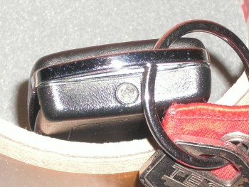 Changement pile de télécommande de verrouillage C231a9273644408