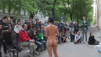 Naked Asian Exotic Art Performance - Nude Asian Public Theatre 7fa880550974842