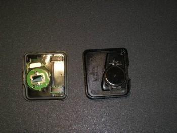 Changement pile de télécommande de verrouillage 857f47273644424