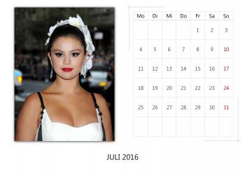 "Selena Gomez ""Selfmade Calendar 2016"" ( 12x ) Ffd8b8455014936"