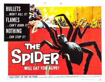 °° L'araignée vampire / Eath VS Spider 1958 °° 9b122f415197045