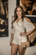 """Ashley Hale """"Kannon Ent's 1st Annual Grammy After Party at """"Exact Science"""" Art Gallery on Melrose in West Hollywood"""" (08.02.2015) 11x  76237b389390590"""