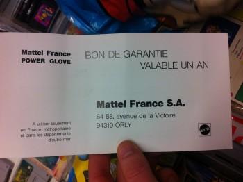 Power Glove PAL 0254ab400415400