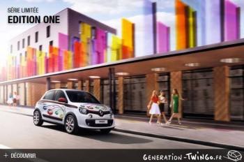 Twingo 3 série limitée - Édition One Be7238349511795