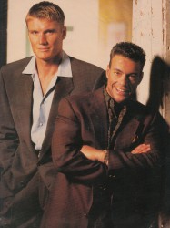 Универсальный солдат / Universal Soldier; Жан-Клод Ван Дамм (Jean-Claude Van Damme), Дольф Лундгрен (Dolph Lundgren), 1992 - Страница 2 4cf597482497011