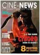 Жан-Клод Ван Дамм (Jean-Claude Van Damme)- сканы из разных журналов Cine-News D667d3493706217