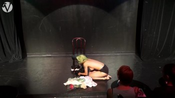 Naked Asian Exotic Art Performance - Nude Asian Public Theatre 542090494776556