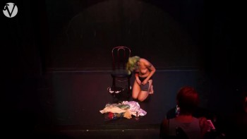 Naked Asian Exotic Art Performance - Nude Asian Public Theatre F802ca494776564