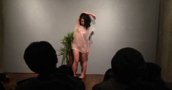 Naked Asian Exotic Art Performance - Nude Asian Public Theatre C1176c540234513