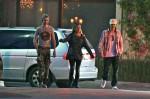 [Vie privée] 13.03.2012 Los Angeles - Bill & Tom Kaulitz et Ria  34dd54194089667