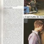 Making of & critique de WFE - Première (France) - Scans HQ 731deb127190749