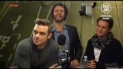 Take That à la radio DJ Italie 23/11-2010 Fef701110832861