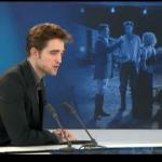 Interview et caps de Robert Pattinson au JT de 20h de France 2 9a8f72130403959