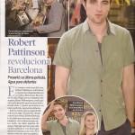 Robert Pattinson dans La Semana et Nuevo Vale ( Espagne) + traduction 46942e131654562